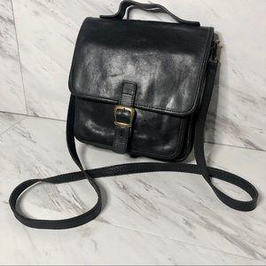 VTG Genuine Italian Leather Shoulder Messenger Bag